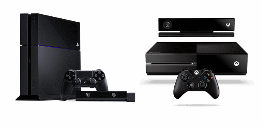 Microsoft Xbox One vs PS4