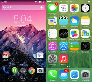 The-Android-and-iOS-home-screens
