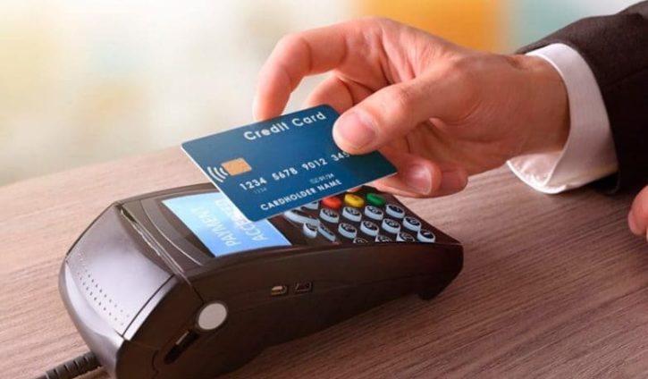 оплата картой NFC