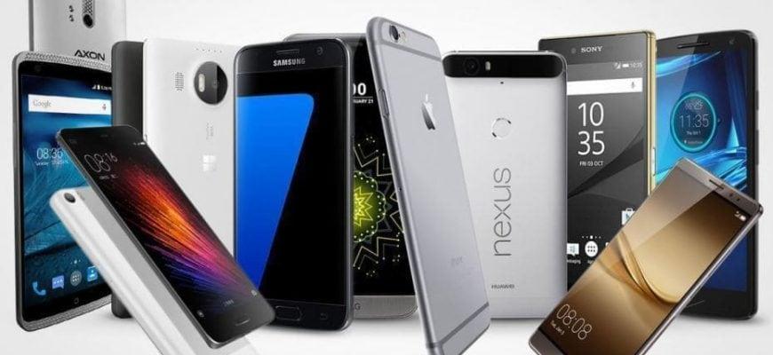 Самые популярные телефоны